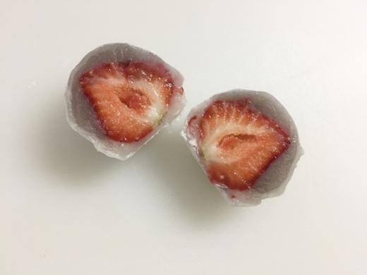鈴懸 苺大福