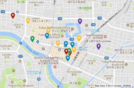 【エリアガイド】福井駅周辺エリア