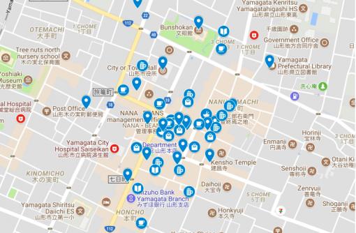 【エリアガイド】山形市シネマ通り周辺