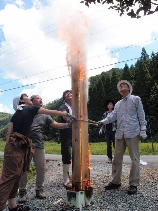本物の焼板を作ろう!