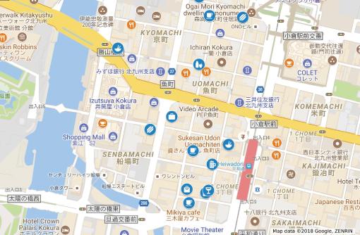 【エリアガイド】魚町・船場町エリア