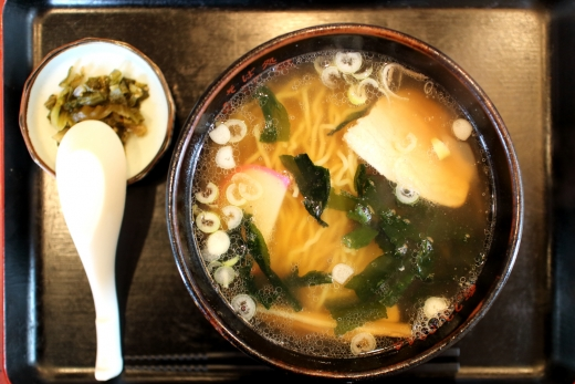蕎麦屋でラーメン! 10/近江屋