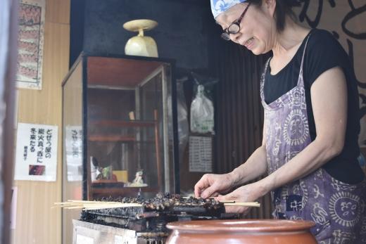 「かばやきの浅田」どじょうの蒲焼き