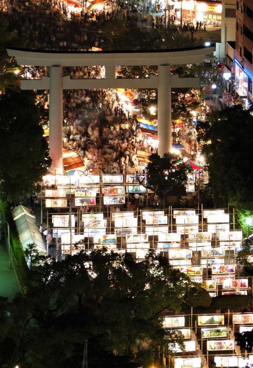 鹿児島の夏の風物詩。「六月灯」