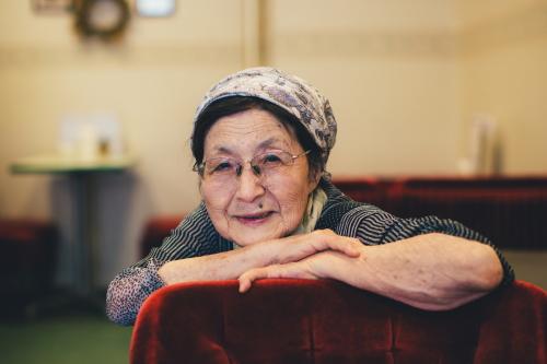 白十字店主 山崎惠子さん/ Yamagata Portrait 1