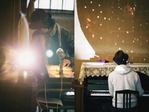 灯る絵画と歌うピアノ