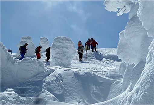 雪山を歩こう!蔵王かんじきトレッキング