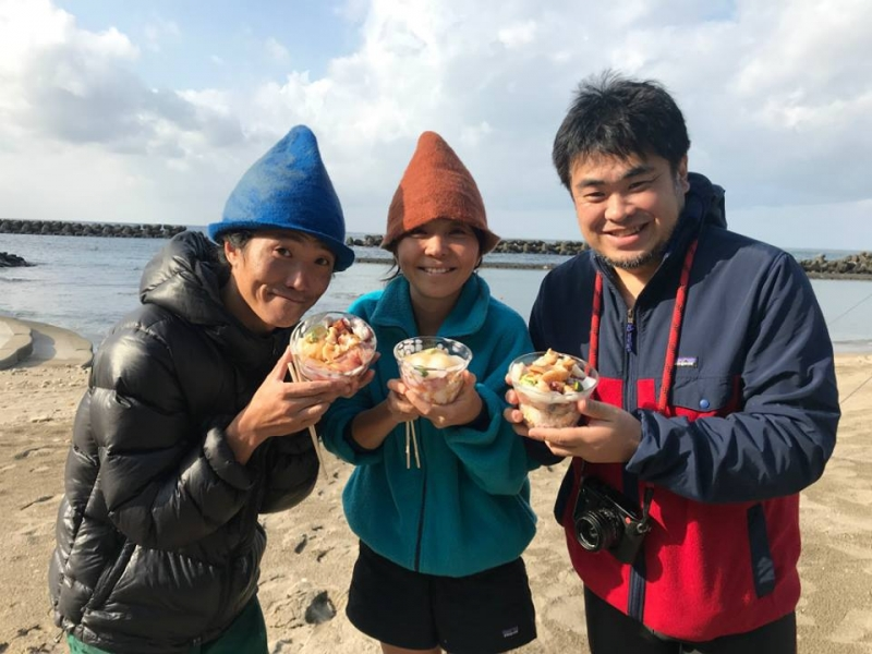 越廼の海に通って3年!株式会社TAMのみなさん 日本海トライアルステイ2018 vol.4