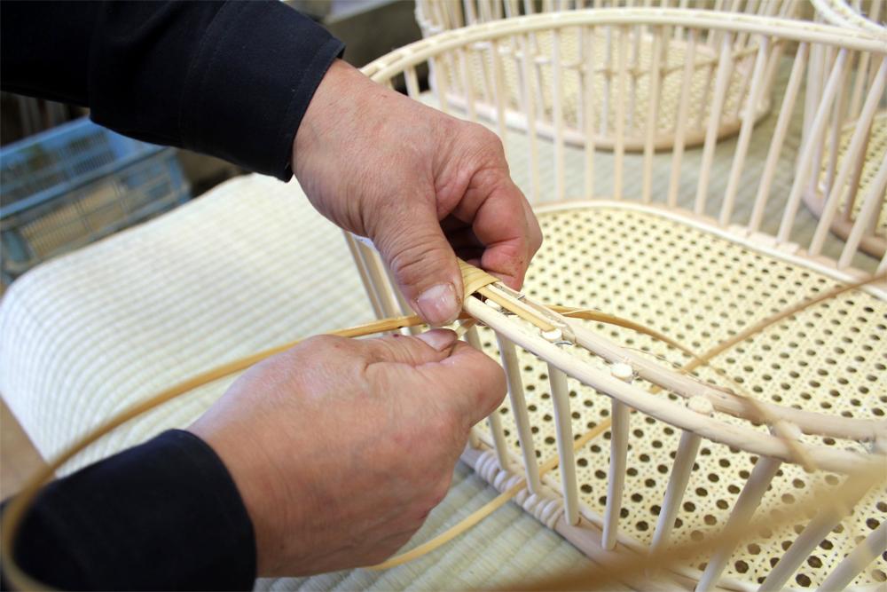変わらない手仕事、進化するデザイン/籐工芸品メーカー「ツルヤ商店」