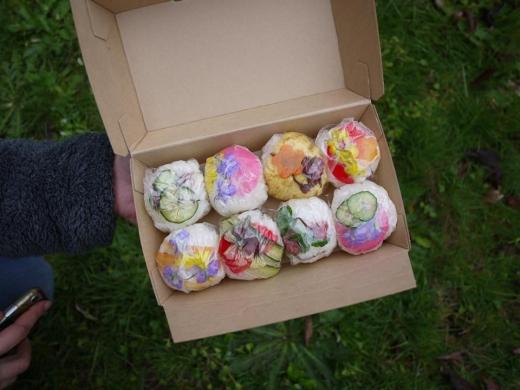 能登島の春を摘んで食す。/4月20日(土)摘み草天ぷらとちらし寿司