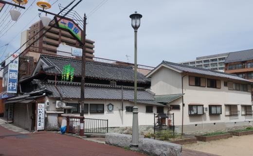 三田駅から徒歩5分の旧呉服店で、テナントを募集中!