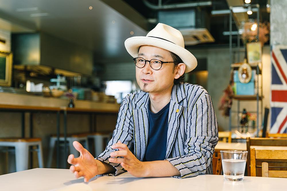 シアターサイドカフェ「SLOW JAM」神保雅人さん