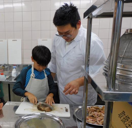 シェフは子ども達!「コドモレストラン」@コドモのて