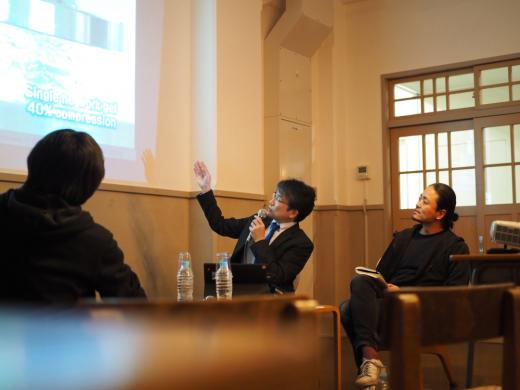 第2回 クリエイティブ会議「高齢化社会とテクノロジー」2019.12.4 / Q1プロジェクト/REPORT 断片集
