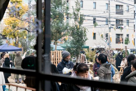 生まれ変わった「旧宮塚町住宅」の産声を聞いた - CITY FARM MARKET 開催レポート -