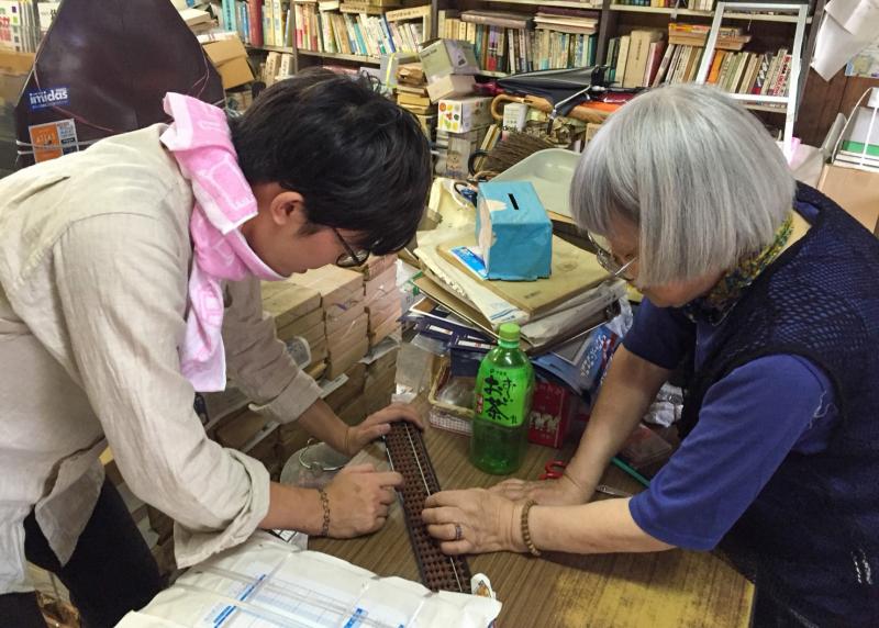 シネマ通り、郁文堂書店との出会い / 町にまなび、町にさわる(1)