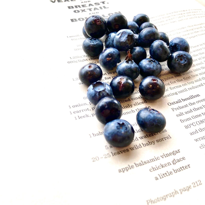食彩やまがた12カ月 文月「ブルーベリー」