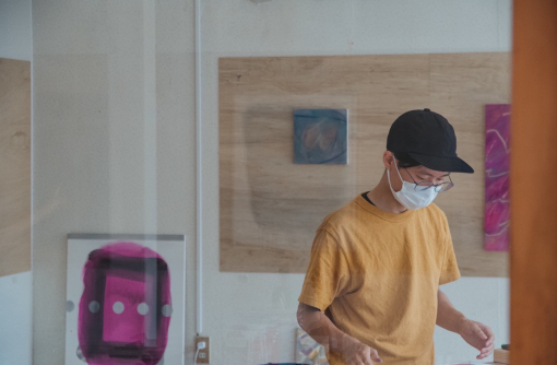 自分のペースを大切にしながら、キャンバスを彩る/ペインター・高田幸平さん