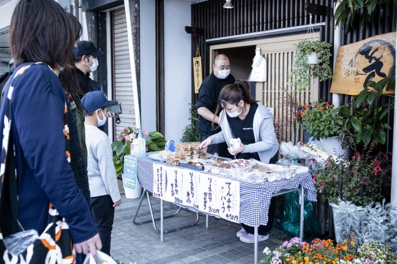氣比さんの前で風が強くふいた -国道8号空間利活用イベント「KUKATSU」レポート