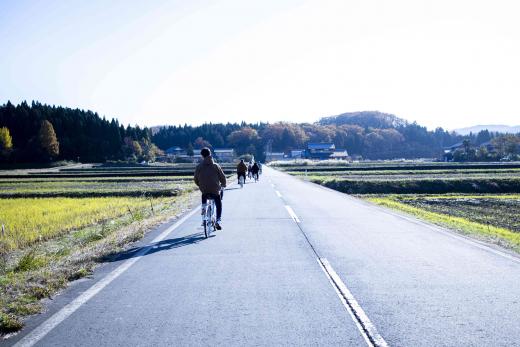 越前丹南日常に触れる旅 1 / 自転車でインバウンド!越前焼と里山の風景