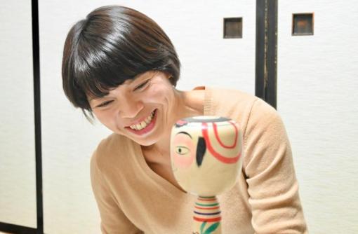 【中ノ沢こけし】日本橋のキャリアウーマンから、こけし職人に!/小林澄子さん