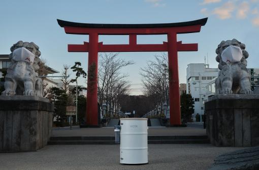 鎌倉市と協力。水循環型ポータブル手洗い機「WOSH」を提供する「WOTA株式会社」