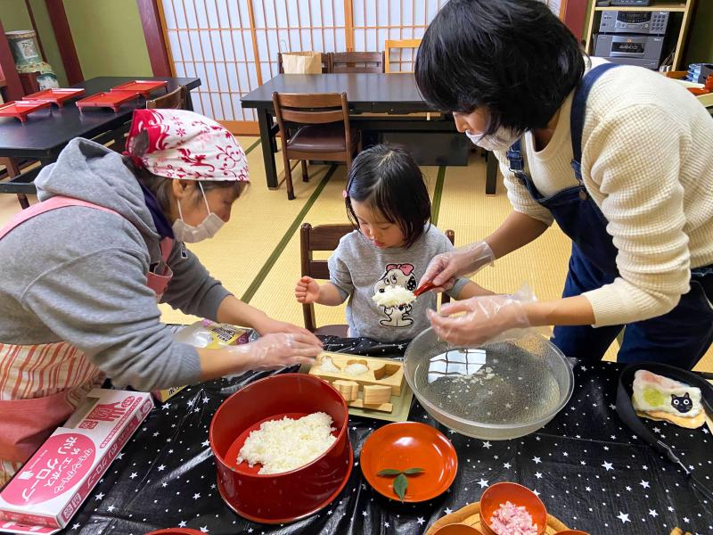 石川県七尾市・能登島で鱈寿司づくり/1泊2食3体験!「コドモのてプラン@えのめ荘」