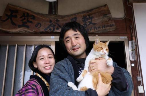 福岡県八女市 ゲストハウス「天空の茶屋敷」オーナー 坂本治郎さん