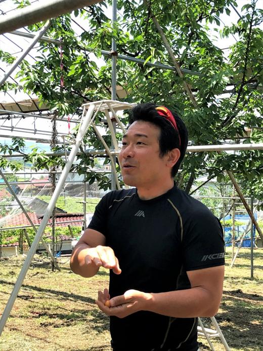 【山梨県甲州市塩山】移住者インタビュー/原田弓大さん 果樹農家になるということ
