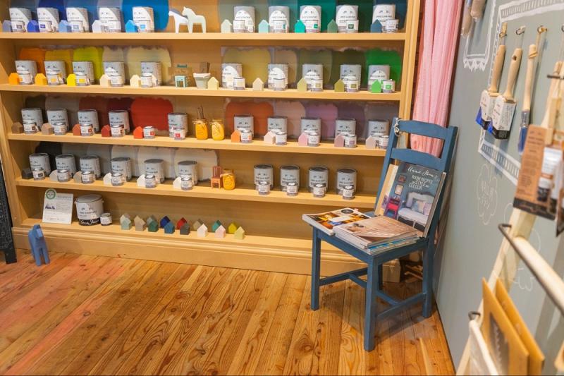 【福島・郡山】自由自在な塗料に魅せられて デコレイティブペインター 熊田牧子さん