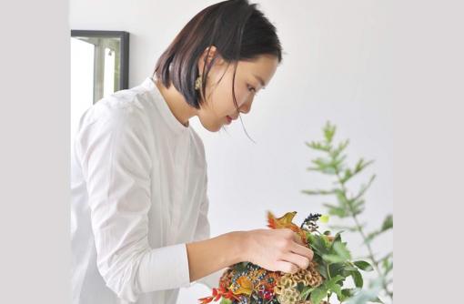 山形移住者インタビュー/gugu flower 佐藤真梨絵さん「暮らしや人をつなぐコーディネーターに」