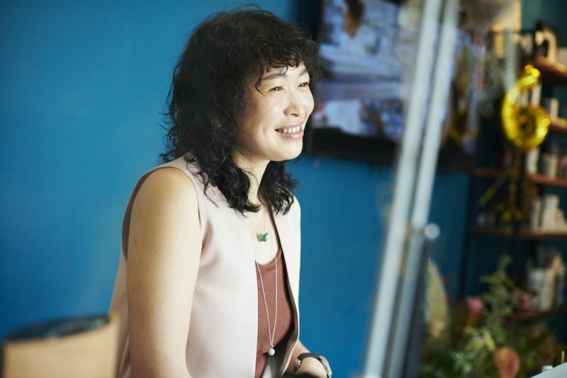 移住者インタビュー / 角田たまきさん「地域のコミュニティーの中心地に。笑顔が連鎖する場を作りたい」