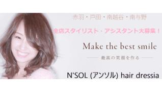 N'SOL hair dressia 南与野店
