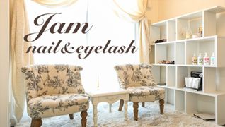 Jam~nail&eyelash~
