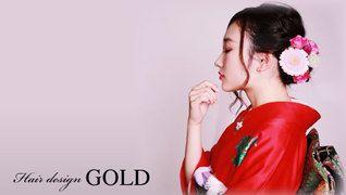 Hair design GOLD