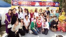 カンボジアフェスティバルに参加 ファッションショーなどもヘアメイク統括しております。