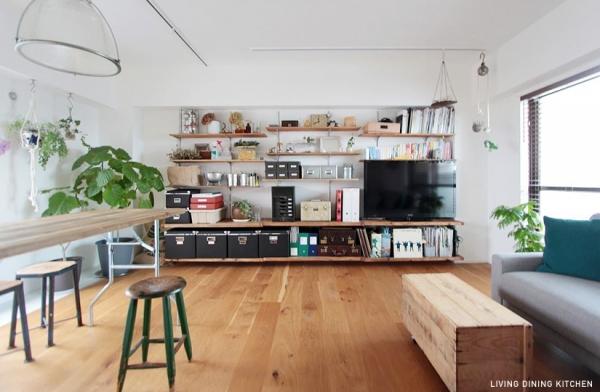 DIYとグリーンをとことん楽しむ手作り感たっぷりの家