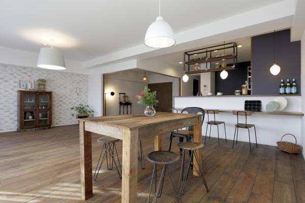 カフェのような心地いい空間