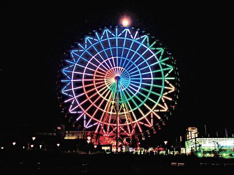 夜のパレットタウン大観覧車(東京都/江東区)