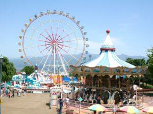 渋川スカイランドパークの見所を紹介!小さな子供が大満足の遊園地