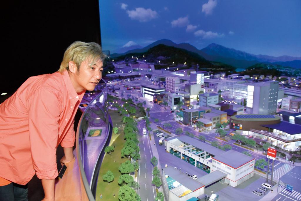 ジオラマの展示/いすゞプラザ(神奈川県/藤沢市)
