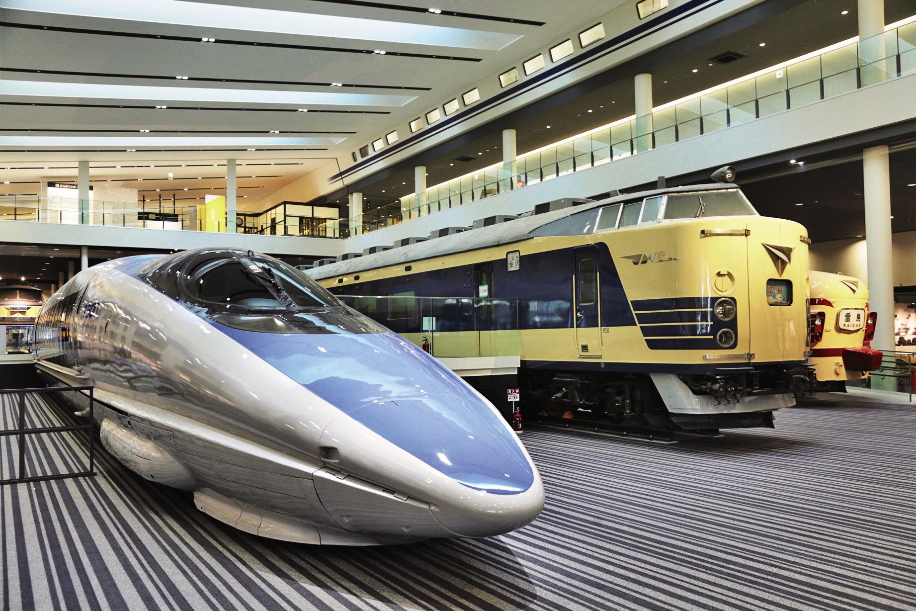 見て・ふれて・体験しながら鉄道の歴史が学べる京都鉄道博物館