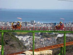 別府ラクテンチは、観覧車や大吊り橋からの絶景とかわいい動物たちが人気の遊園地