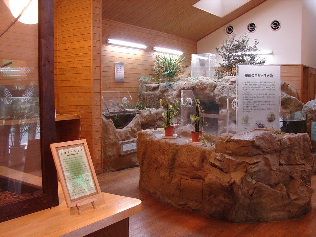 「里のいきもの館」の展示/到津の森公園(福岡県北九州市)