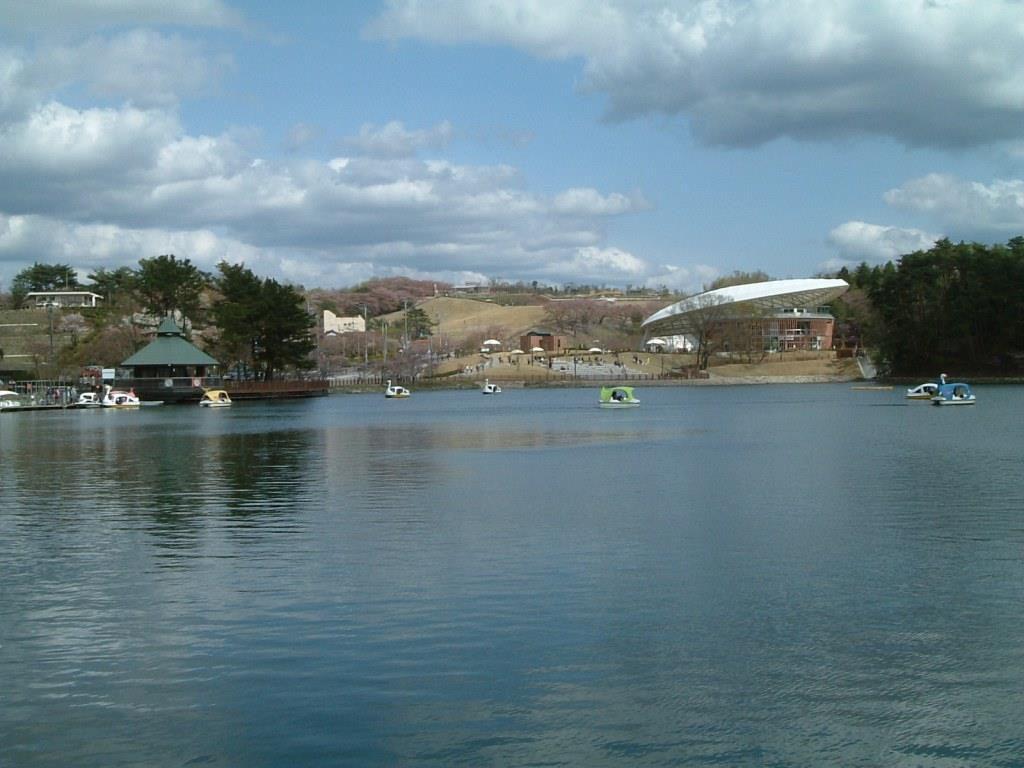 ペダルボートとローボートが楽しめる鞍ケ池/鞍ケ池公園(愛知県/豊田市)