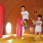 佐久平ハイウェイオアシス「パラダ」は、水遊びにアスレチックなど通年遊べる!
