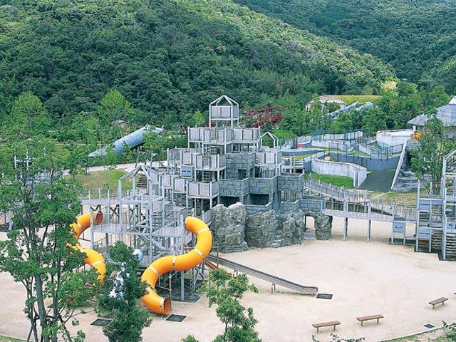 あすたむらんど徳島の全景(徳島県板野町)