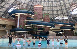 屋内にスライダーも!埼玉県深谷市の大型プール「アクアパラダイス パティオ」
