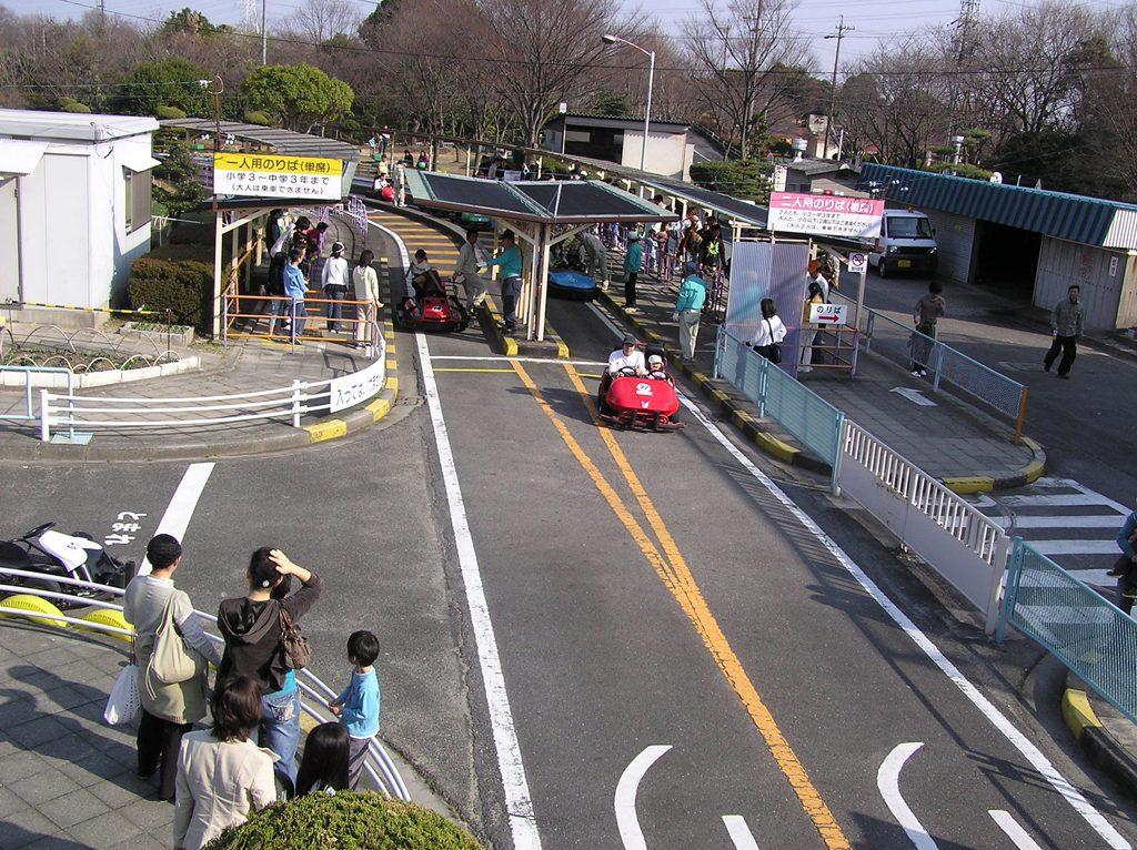 大高緑地公園にあるゴーカート場/ディノアドベンチャー名古屋(愛知県)