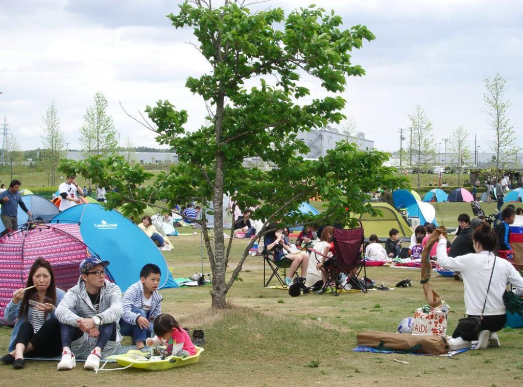 ピクニック広場/万葉クリエートパーク(宮城県/大衡村)